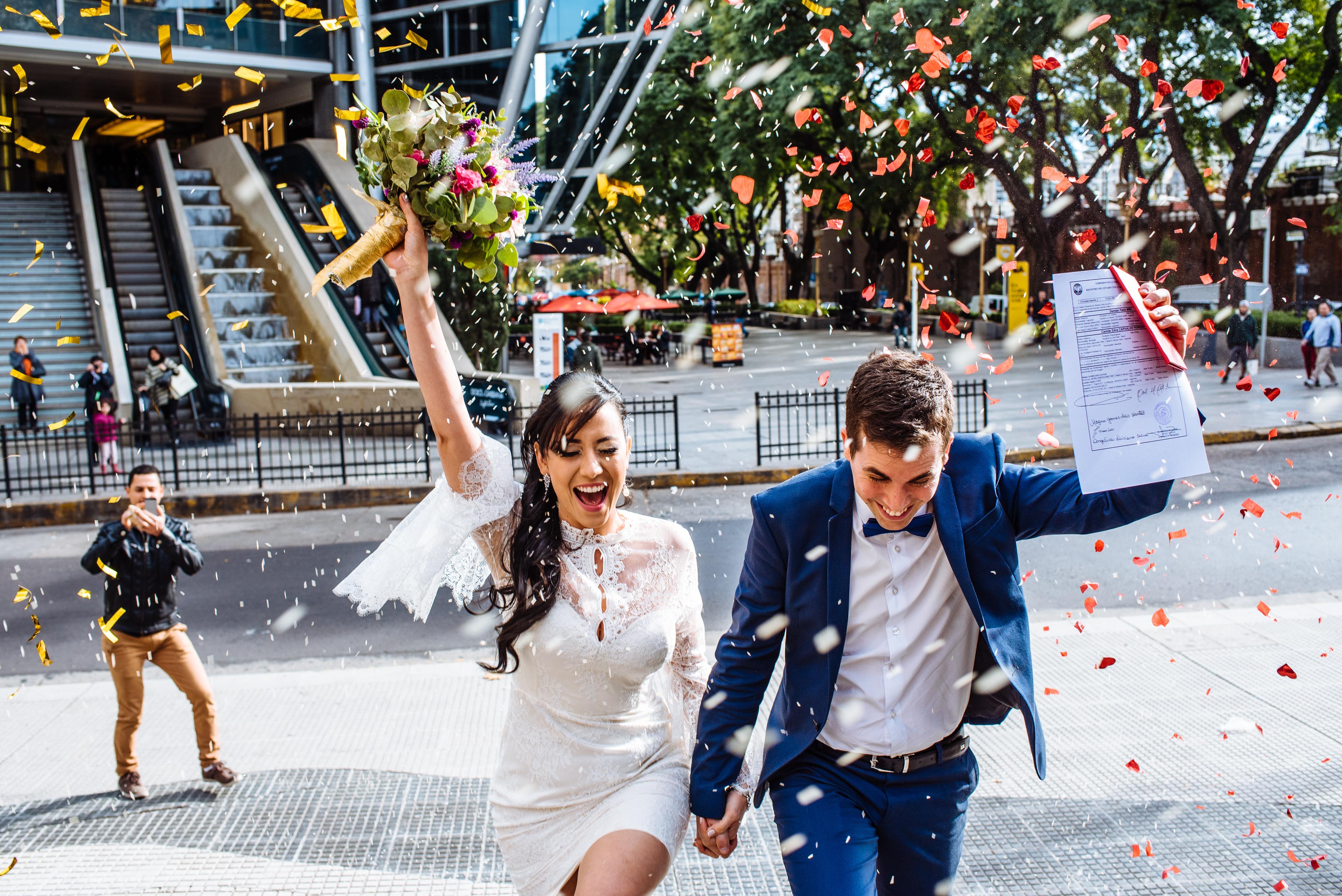 Cami y Demi en Buenos Aires
